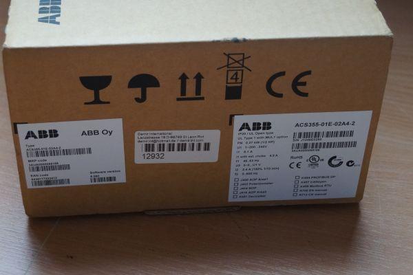 ABB ACS355-01E-02A4-2 Frequenzumrichter Neu OVP