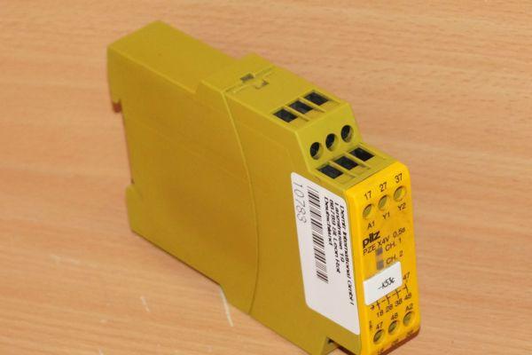 PILZ PZE X4V 0,5/24VDC 4n/o ID No.: 774580