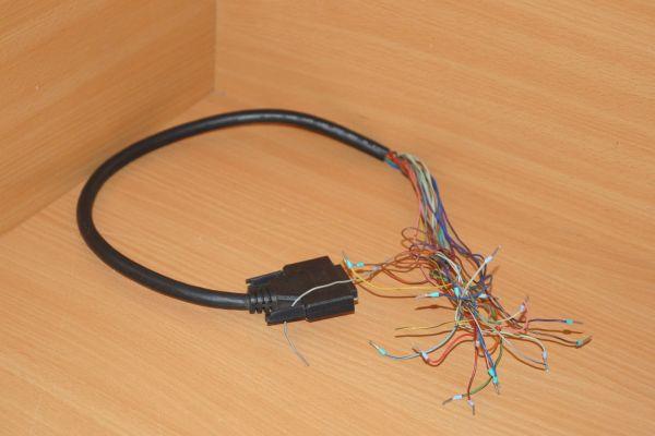 Kabel mit Anschluss für GE Fanuc module 1 m lang