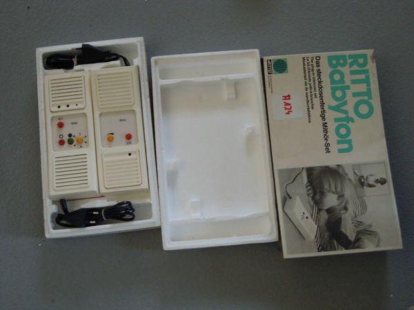 Ritto 9732/70 Babyfon steckdosenfertig Mithör-set