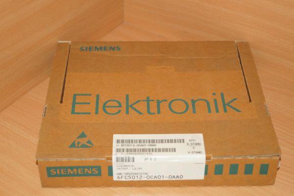 Siemens 6FC5012-0CA01-0AA0 Sinumerik InterF. L2/DP E-Stand:C 6FC5012-0CA01-0AA0