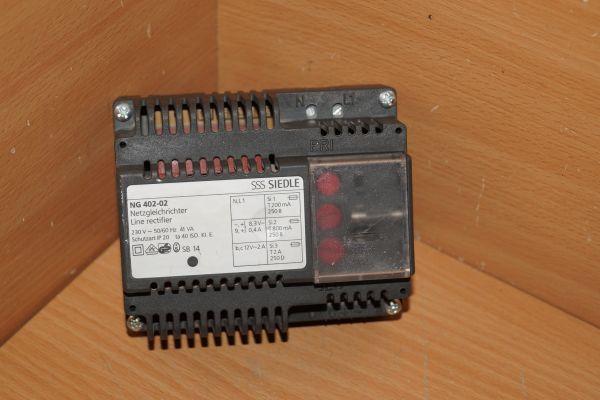 Siedle NG 402-02 Netzgleichrichter