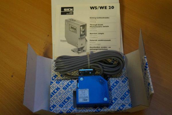 SICK WS/WE20 Einweglichtschranke WS 20-6023 WE 20-9123