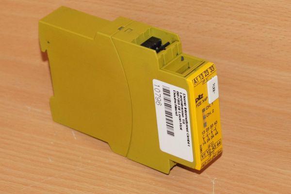 Pilz PZE X4 24VDC 4n/o ID No.: 774585