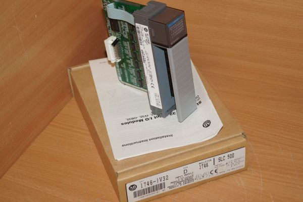 Allen Bradley SLC500 Input Module SER D 1746-IV32