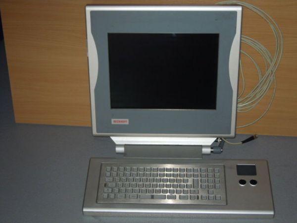 Beckhoff CP7002-1002-0010 Beckhoff PC Monitor mit Edelstahltastatur