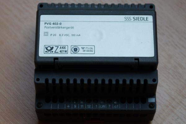 Siedle PVG 402-0 Postverstärker