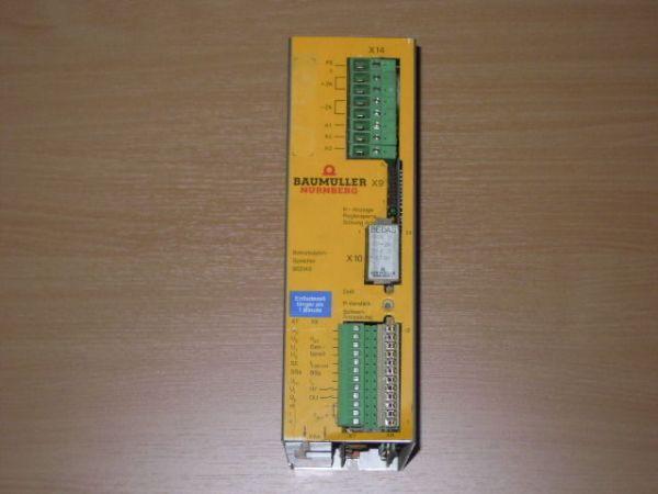 Baumüller BEDAS BUS 3-10-30 56s 3-61720 Betriebsdatenspeicher