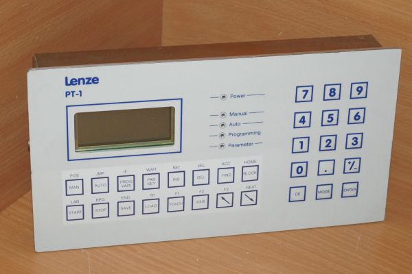 LENZE PT-1 PSX ES Bedienpanel Bedienterminal Software Version 2.03