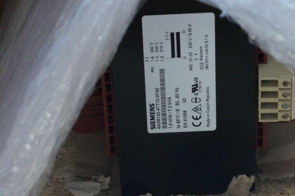 Siemens Transformator 4AM6142-4TT10-0FA0