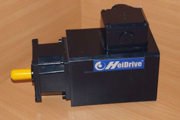 Heidolph Elektro Servomotor Q085-D263-180-54-4-KC-LA-SS-V3 + Q085-0075 Getriebe