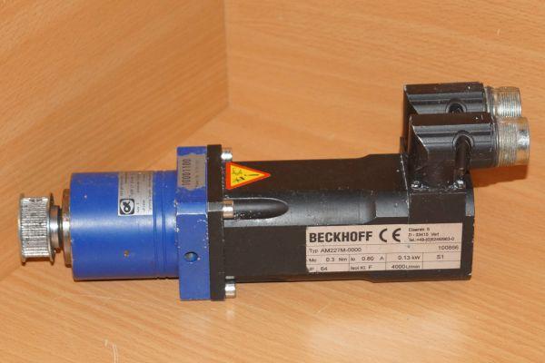 Beckhoff AM227M-0000 Servo Motor LP 050-M01-5-111-000 Gearhead Innolas