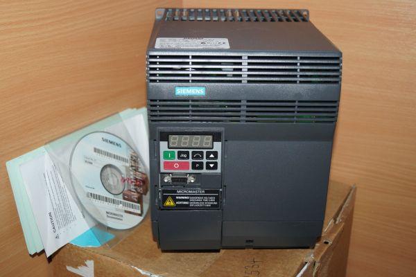 Siemens 6SE9221-0BC40 Micromaster 6SE9 221-0BC40 2,2KW Frequenzumrichter