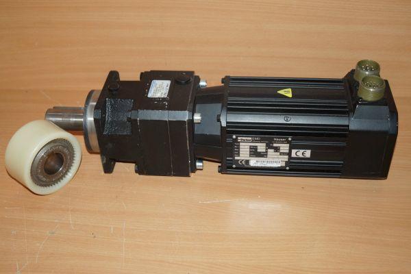 Paker Hauser Servo Motor 026-740400 HDY115A6-88S1 + Stöber Getriebe P501PN0050