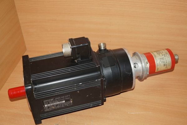 INDRAMAT MAC090A-0-RD-3-C/110-A-1 Servomotor + Electronic Typ CE65M Drehgeber