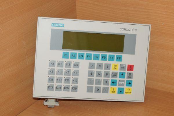 Siemens 6AV3515-1MA22-1AA0 OP 15-C2 6AV3 515-1MA22-1AA0